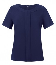Image 4 of Brook Taverner Ladies Verona Short Sleeve Shirt