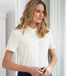 Image 1 of Brook Taverner Ladies Siena Short Sleeve Blouse