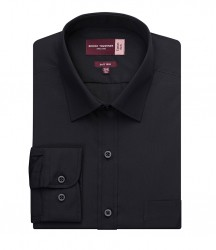 Image 2 of Brook Taverner Rapino Long Sleeve Poplin Shirt