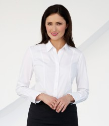 Brook Taverner Ladies Palena Long Sleeve Poplin Shirt image