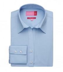 Image 3 of Brook Taverner Ladies Palena Long Sleeve Poplin Shirt