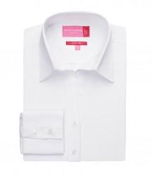 Image 4 of Brook Taverner Ladies Palena Long Sleeve Poplin Shirt