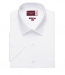 Image 4 of Brook Taverner Rosello Short Sleeve Poplin Shirt