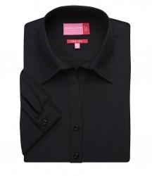 Image 2 of Brook Taverner Ladies Paduli Short Sleeve Poplin Shirt