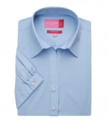 Image 3 of Brook Taverner Ladies Paduli Short Sleeve Poplin Shirt