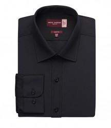 Image 2 of Brook Taverner Alba Long Sleeve Slim Fit Poplin Shirt