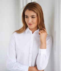 Brook Taverner Ladies One Selene Long Sleeve Poplin Shirt image