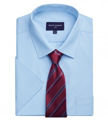 Brook Taverner One Vesta Short Sleeve Poplin Shirt image