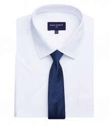 Image 3 of Brook Taverner One Vesta Short Sleeve Poplin Shirt