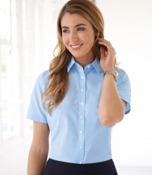 Brook Taverner Ladies One Eos Short Sleeve Poplin Shirt image