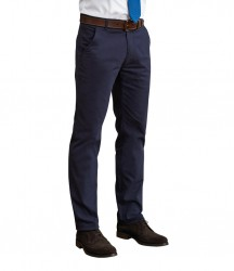 Image 4 of Brook Taverner Miami Slim Fit Chino Trousers