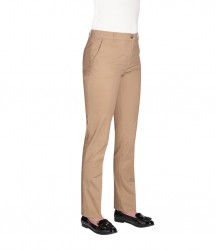 Image 2 of Brook Taverner Ladies Houston Slim Leg Chino Trousers