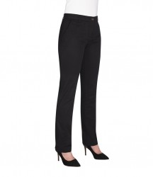 Image 3 of Brook Taverner Ladies Houston Slim Leg Chino Trousers