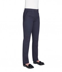 Image 4 of Brook Taverner Ladies Houston Slim Leg Chino Trousers