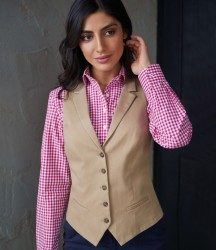 Image 1 of Brook Taverner Ladies Charlotte Chino Waistcoat