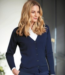 Brook Taverner Ladies Augusta V Neck Cardigan image