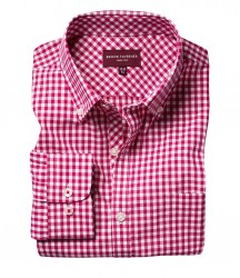Image 4 of Brook Taverner Montana Gingham Long Sleeve Shirt