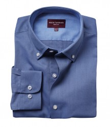 Image 2 of Brook Taverner Toronto Long Sleeve Oxford Shirt