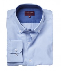 Image 3 of Brook Taverner Toronto Long Sleeve Oxford Shirt