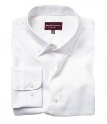 Image 4 of Brook Taverner Toronto Long Sleeve Oxford Shirt