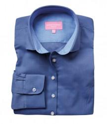 Image 2 of Brook Taverner Ladies Aspen Long Sleeve Oxford Shirt