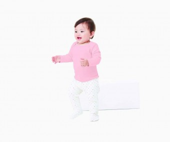 Bella Baby Rib Long Sleeve T-Shirt image
