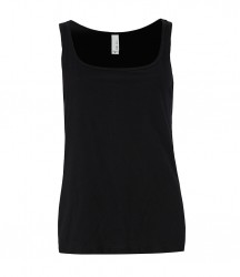 Image 2 of Bella Ladies Relaxed Jersey Tank Top