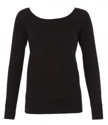 Bella Tri-Blend Sponge Fleece Wide Neck Sweatshirt image