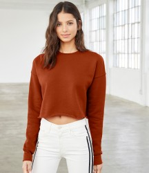 Image 1 of Bella Ladies Cropped Sweatshirt