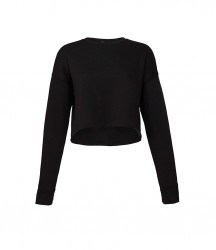 Image 2 of Bella Ladies Cropped Sweatshirt