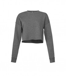 Image 4 of Bella Ladies Cropped Sweatshirt