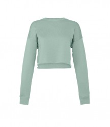 Image 5 of Bella Ladies Cropped Sweatshirt