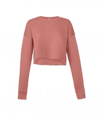 Image 6 of Bella Ladies Cropped Sweatshirt