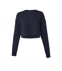 Image 7 of Bella Ladies Cropped Sweatshirt