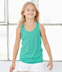 Bella Youth Flowy Racer Back Tank Top image