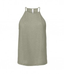 Image 4 of Bella Ladies Flowy High Neck Tank Top