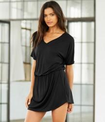 Bella Flowy V Neck Dress image