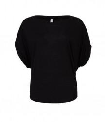Bella Flowy Draped Sleeve Dolman T-Shirt image