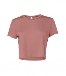 Image 5 of Bella Ladies Flowy Cropped T-Shirt