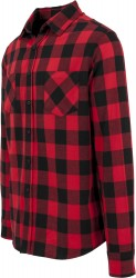 Image 1 of Checked flannel shirt