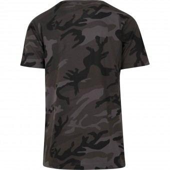 Image 1 of Camo round neck tee