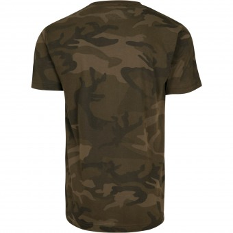 Image 2 of Camo round neck tee