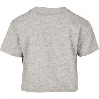 Image 3 of Girls cropped Jersey tee