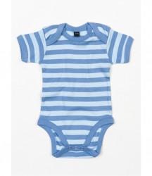 Image 5 of BabyBugz Baby Stripy Bodysuit