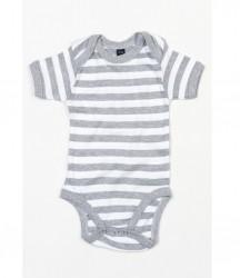 Image 6 of BabyBugz Baby Stripy Bodysuit