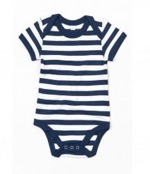Image 2 of BabyBugz Baby Stripy Bodysuit
