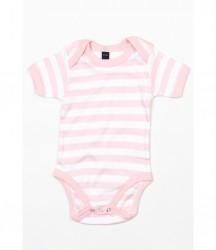 Image 3 of BabyBugz Baby Stripy Bodysuit