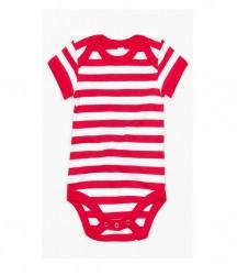 Image 4 of BabyBugz Baby Stripy Bodysuit