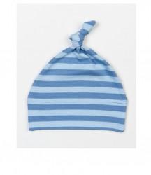 Image 2 of BabyBugz Baby Stripy Knotted Hat
