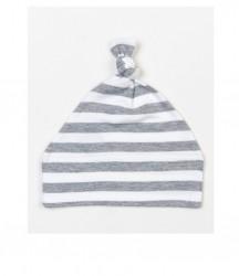 Image 3 of BabyBugz Baby Stripy Knotted Hat